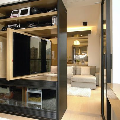 A great idea for a multi-functional space = by Ample DESIGN