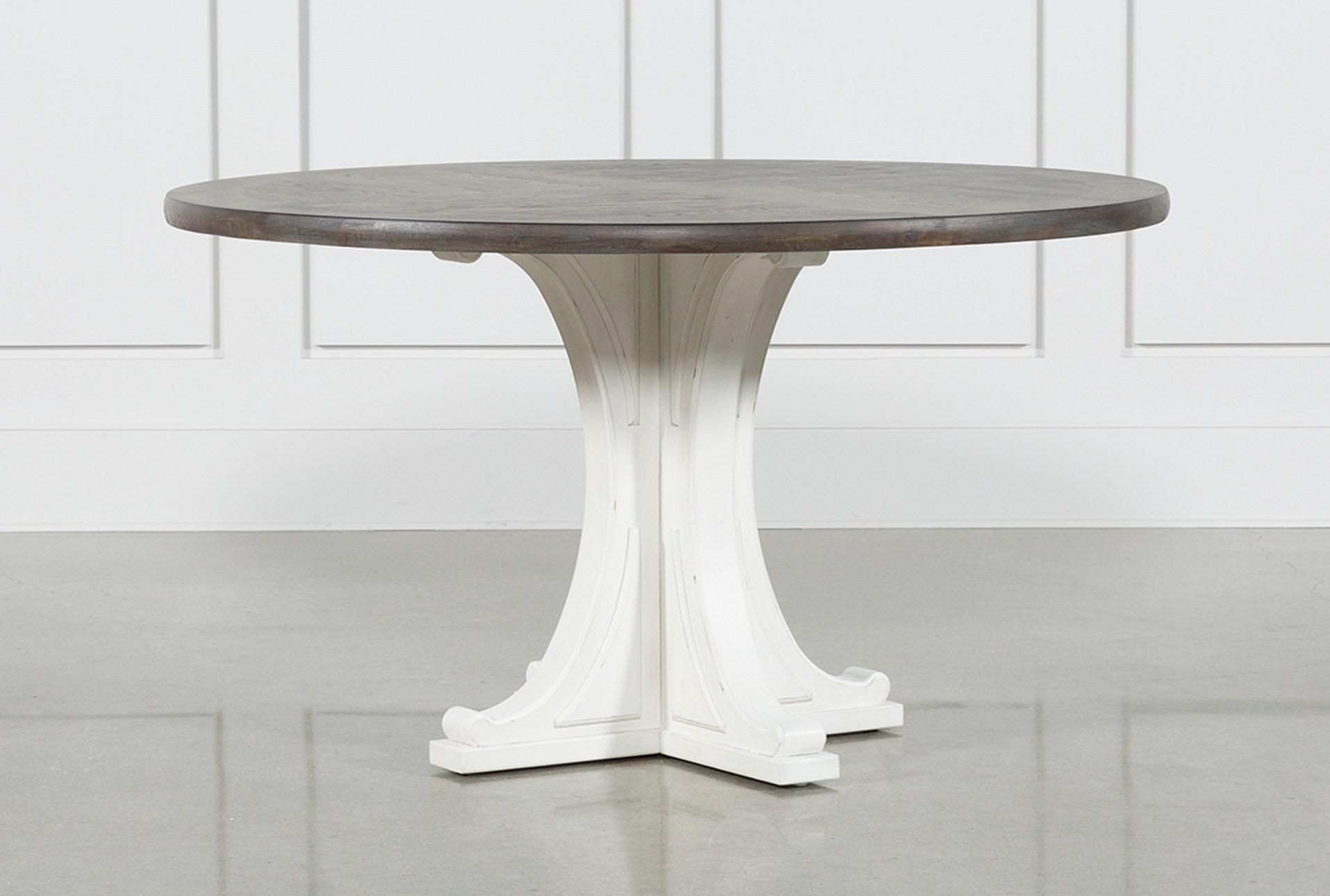 Candice Ii Round Dining Table Grey Dining Tables Grey Round