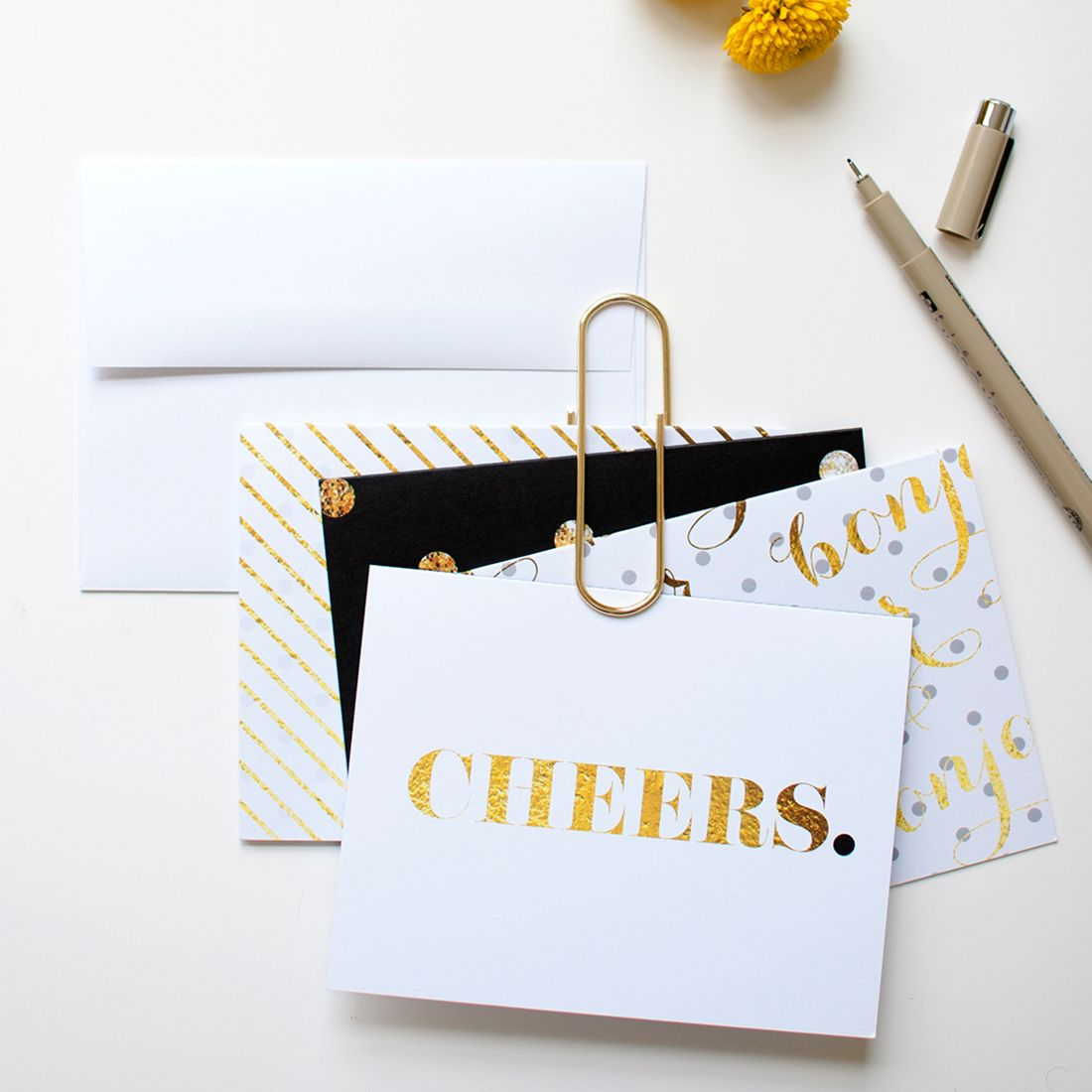 10 Gifts That Just Go Better Together Cards Handmade Thank You