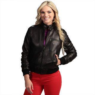 Ladies Bomber Jacket Leather - My Jacket