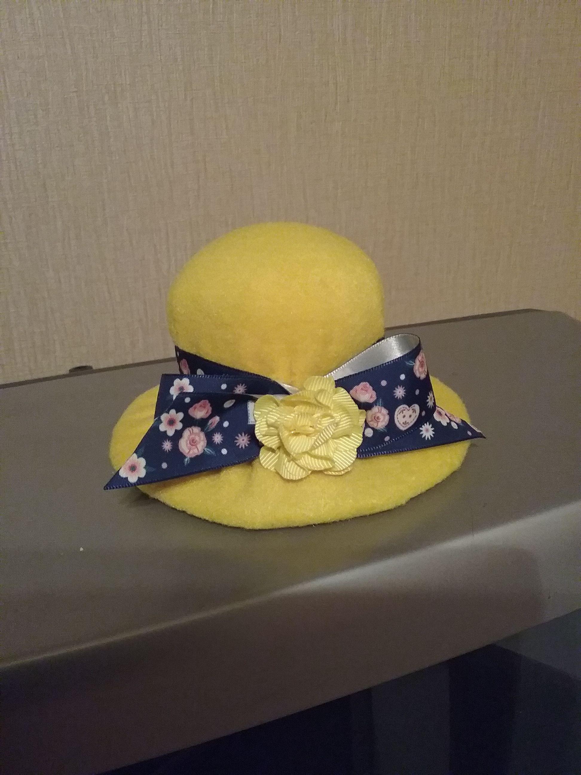 Игольница шляпка из флиса | Игольница и Шитье