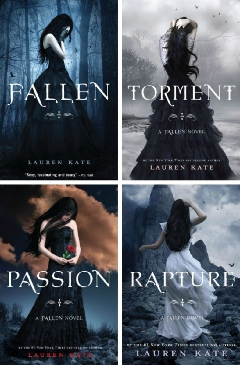 Fallen Series Lauren Kate Fallen Series Fantasy Books