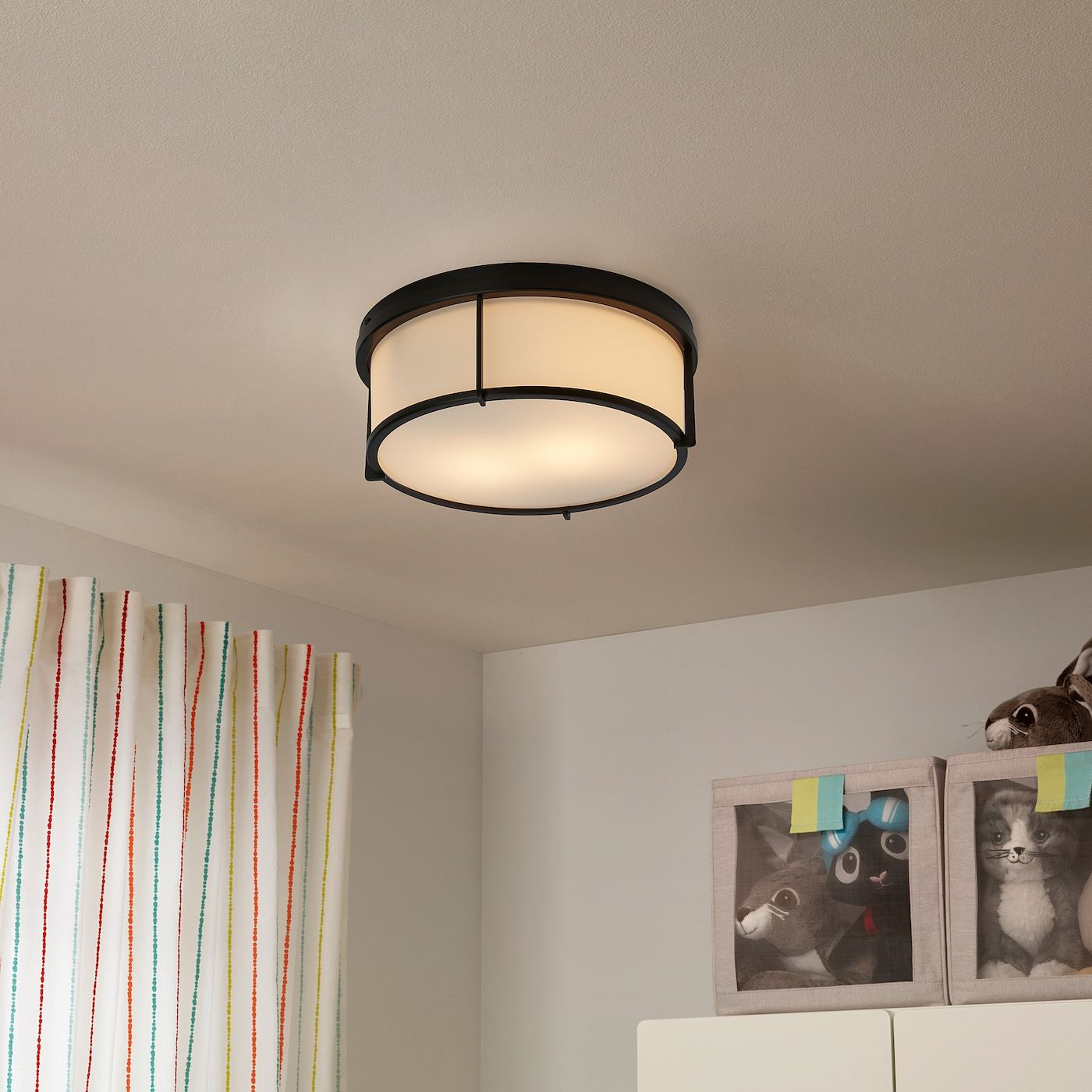 Ikea Kattarp Glass Black Ceiling Lamp In 2020 Ceiling Lamp Ikea Ceiling Light Ceiling