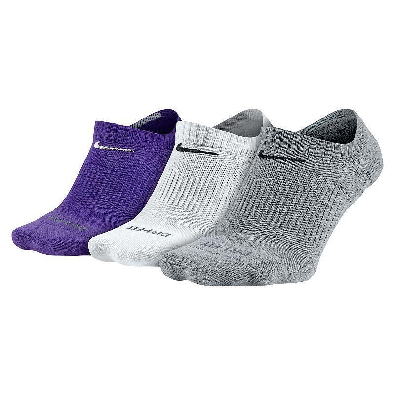 Nike Chaussettes Pour Hommes Dri-fit Matelassées Chaussettes Violettes prix bas G3ZW73BZ