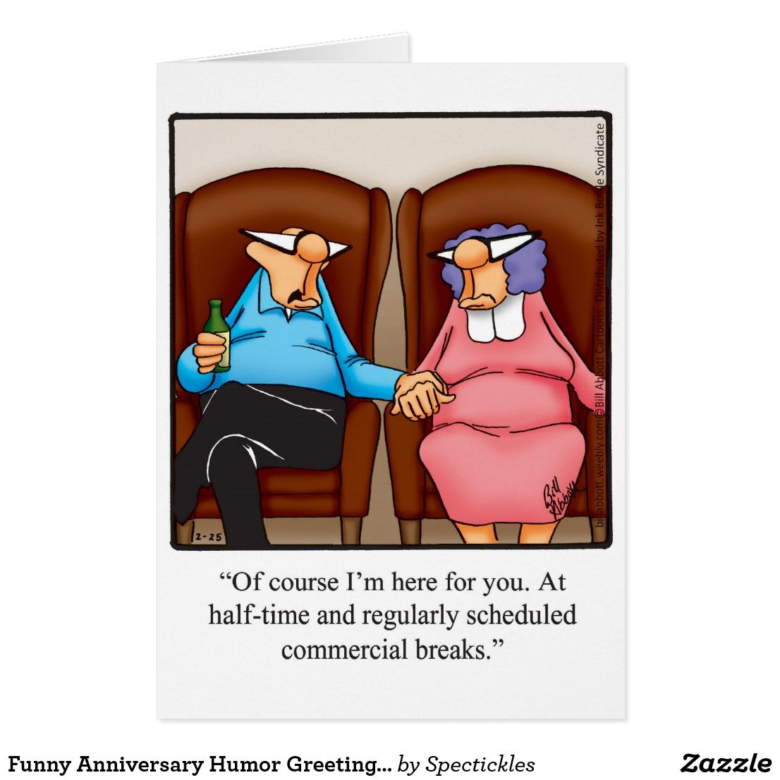 Funny Anniversary Humor Greeting Card Funny Greeting Cards