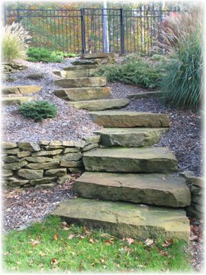 Explore Stone Walkways, Garden Steps, And More!