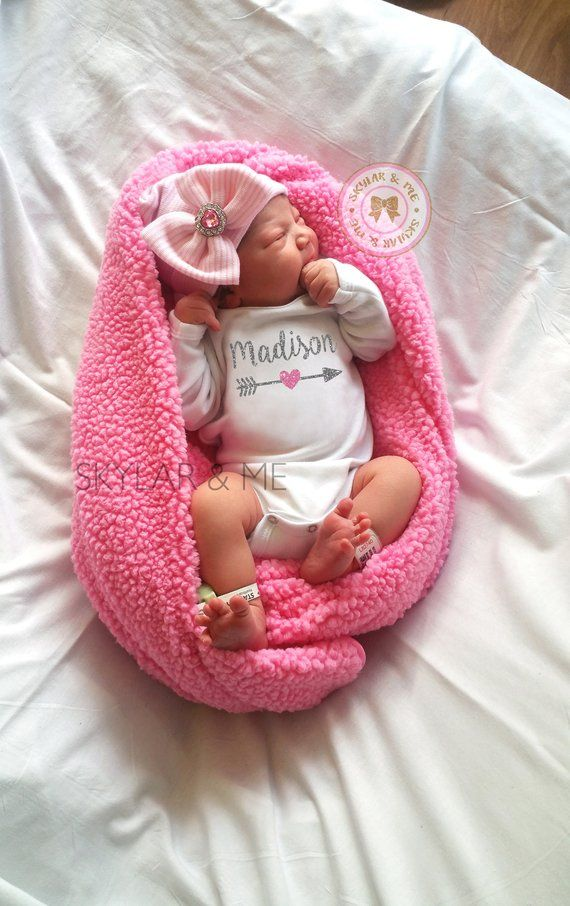 66336faf630 PERSONALIZED baby girl gift