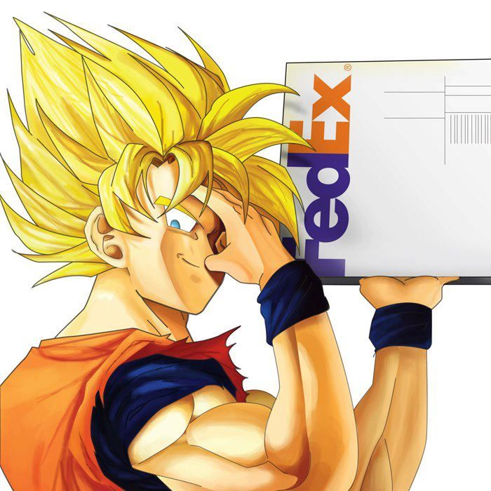 I Wish Fedex Could Teleport My Things To Me Like Goku Dragon Ball Z Dragon Ball Dbz Pictures