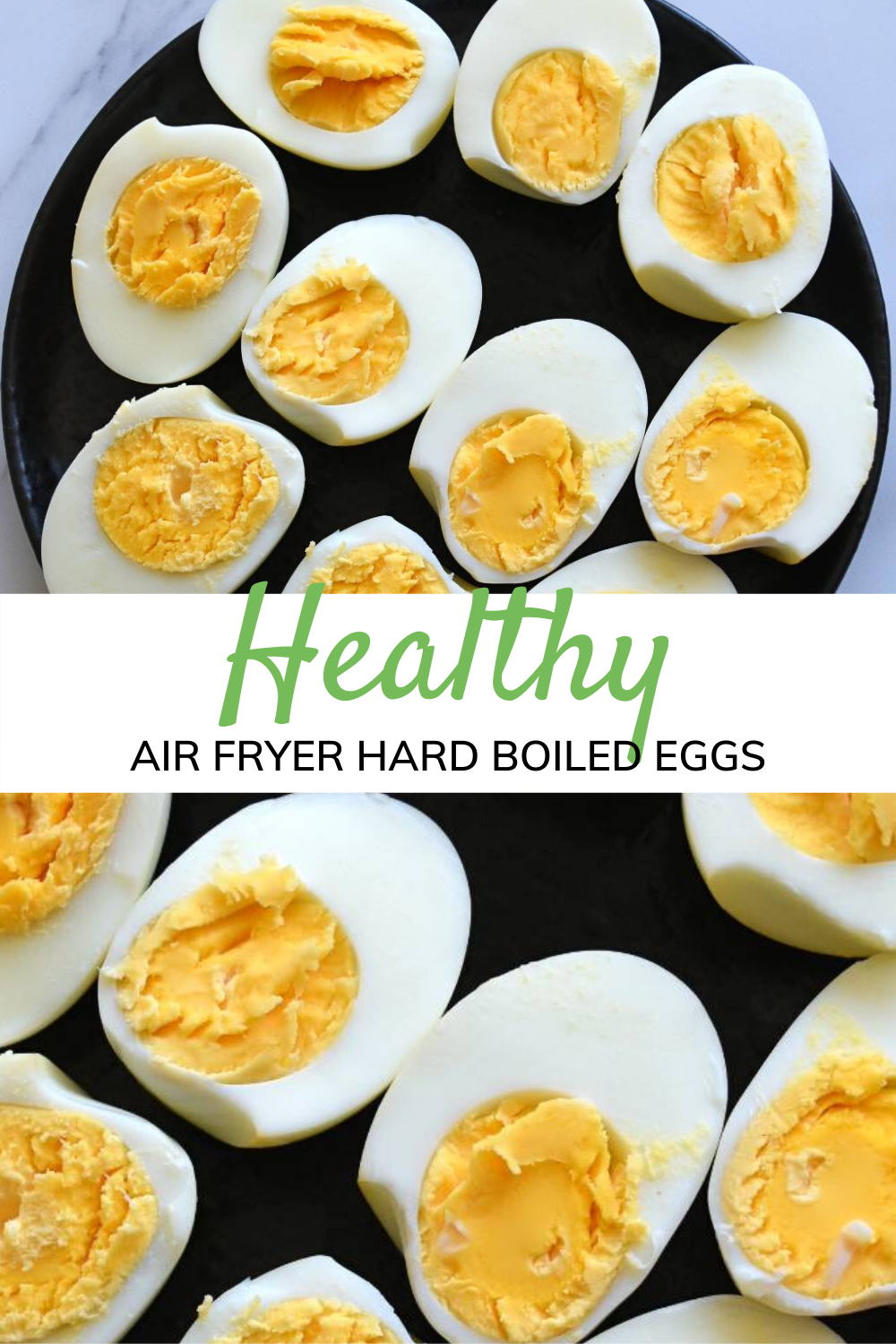 Air Fryer Hard Boiled Eggs Recipe in 2020 Tasty