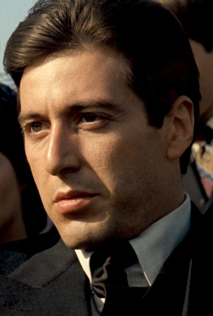"goldenageestate: ""Al Pacino ~ The Godfather, 1972 """