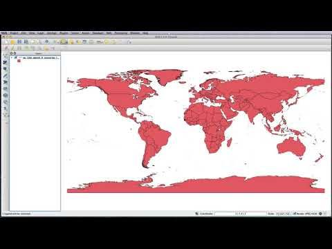 Qgis downloading natural earth data geospatial gis pinterest qgis downloading natural earth data gumiabroncs Images