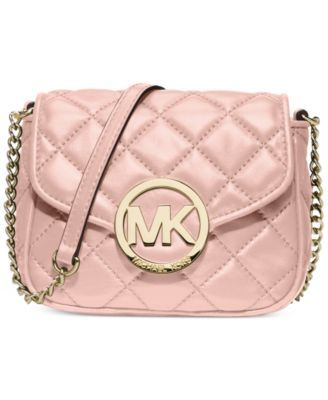 aec890eea MICHAEL Michael Kors Fulton Small Quilted Crossbody | Accessorizing ...