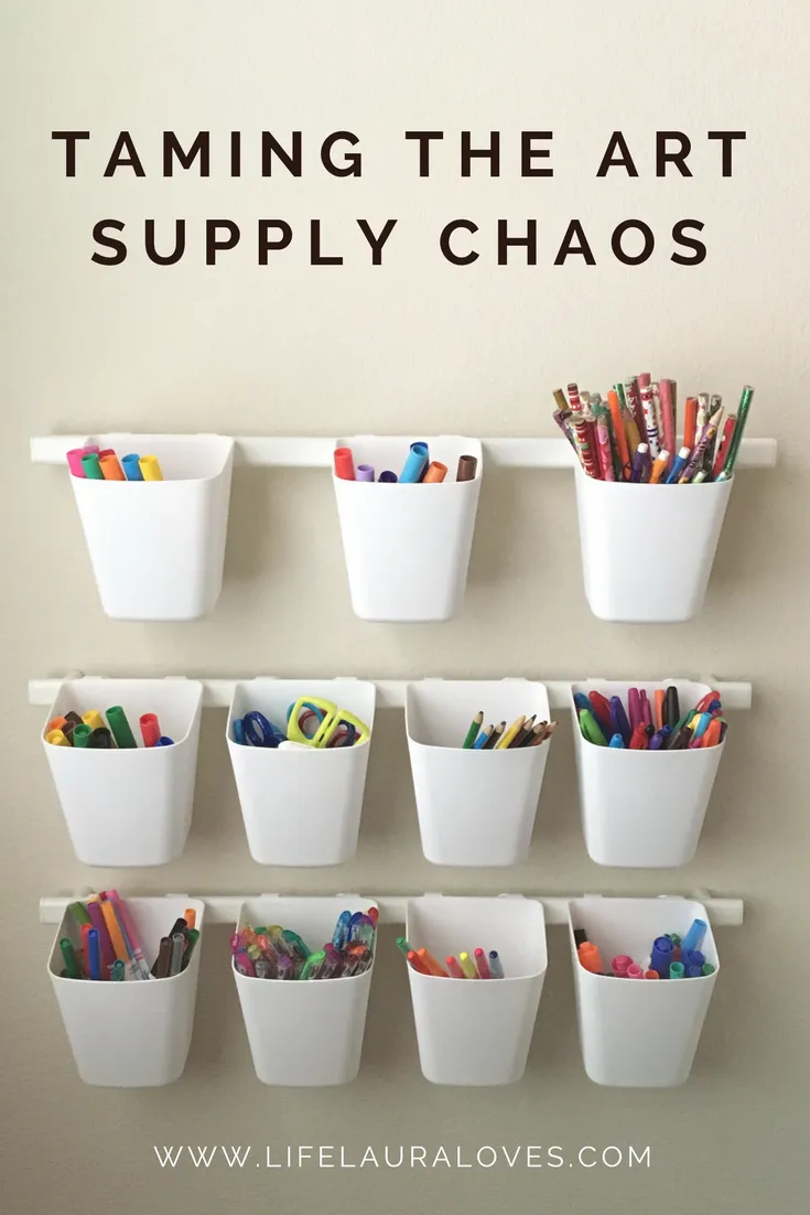 Photo of Taming the Art Supply Chaos – Life Laura Loves