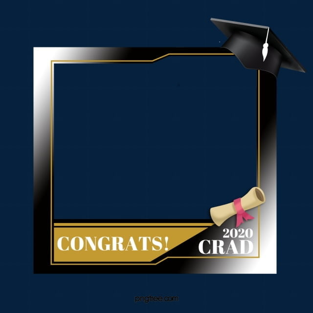 Graduation Celebration Border Graduation Frame Simple Png Transparent Clipart Image And Psd File For Free Download Graduation Celebration Clip Art Free Graphic Design