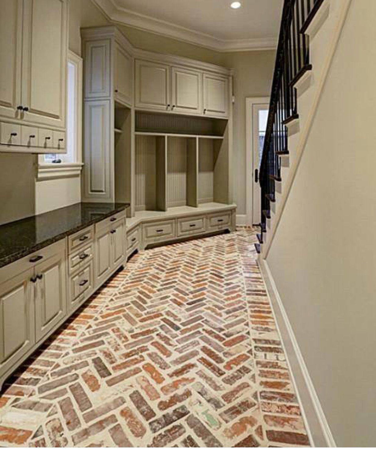 Brick Cobblestone Floor For Sunroom Achieve This Look With Glen