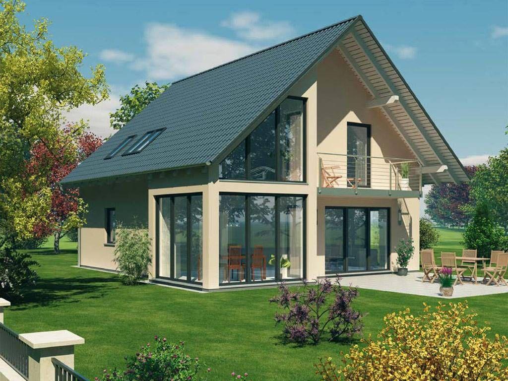 Architektenhaus Satteldach Haus Haus Projekte Und Haus