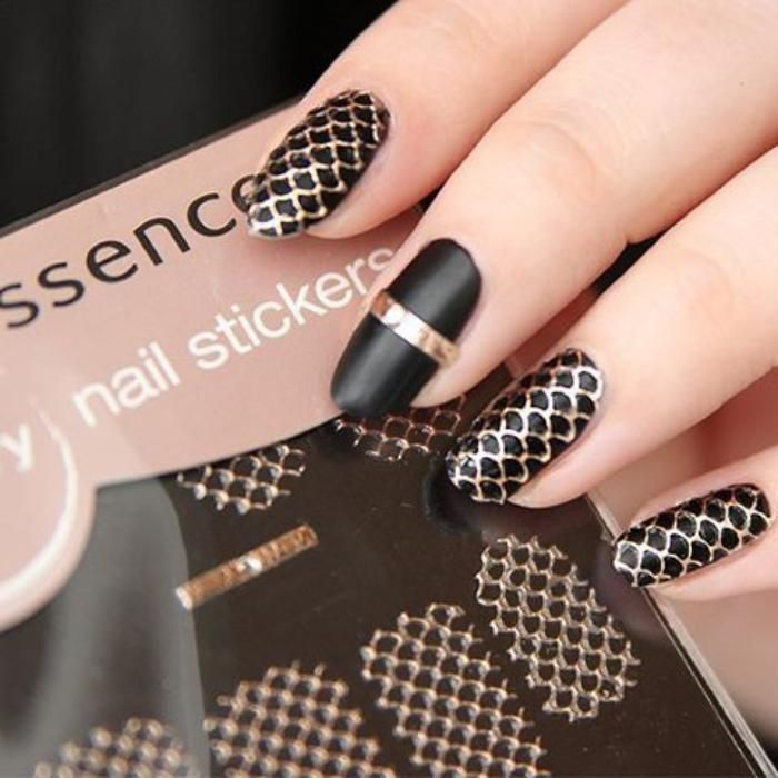 deco ongles stickers