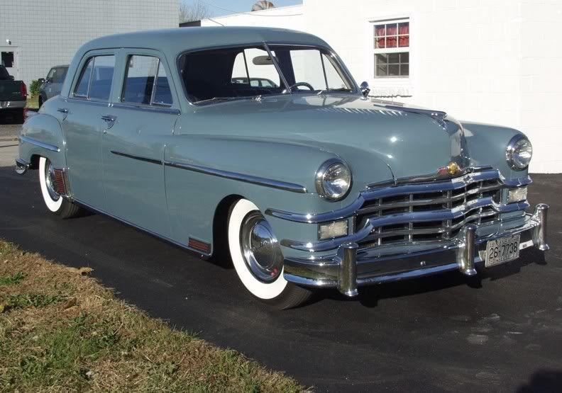 1949 Chrysler Windsor 4dr Sedan Mercury Cars Street Rods For