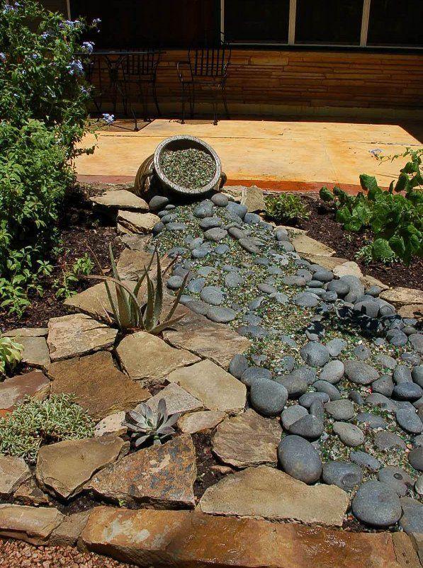 rocks spilling of pots - google