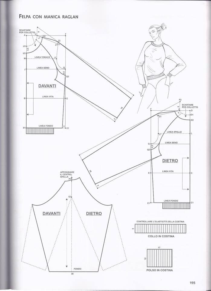 Vistoso Patrón De Costura De Papel Redacción Regalo - Patrón de ...
