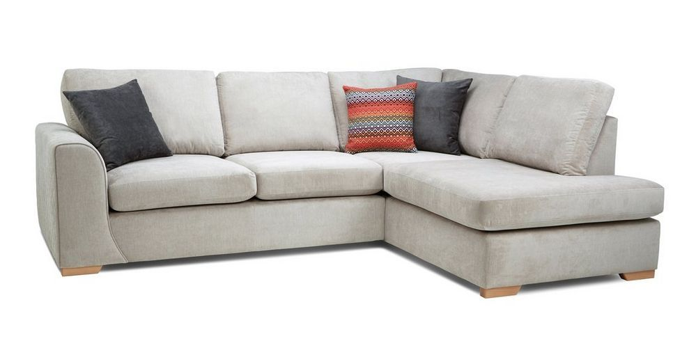 check out c639d 2567e Marquee Left Hand Facing Arm Open End Corner Sofa Plaza ...