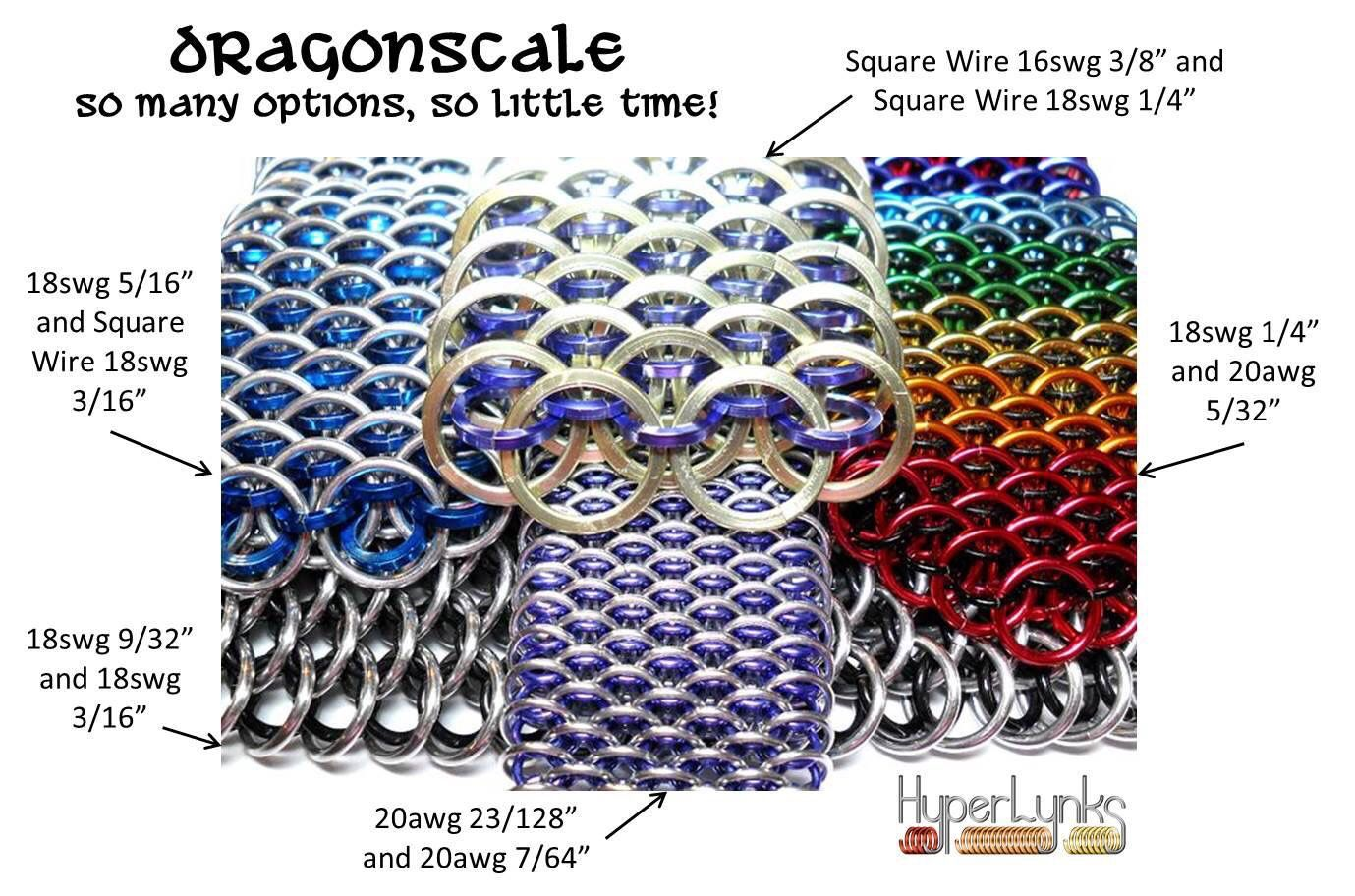 Dragonscale by hyperlinks | Jewelry-Chain, Chain, Chain, Chain ...
