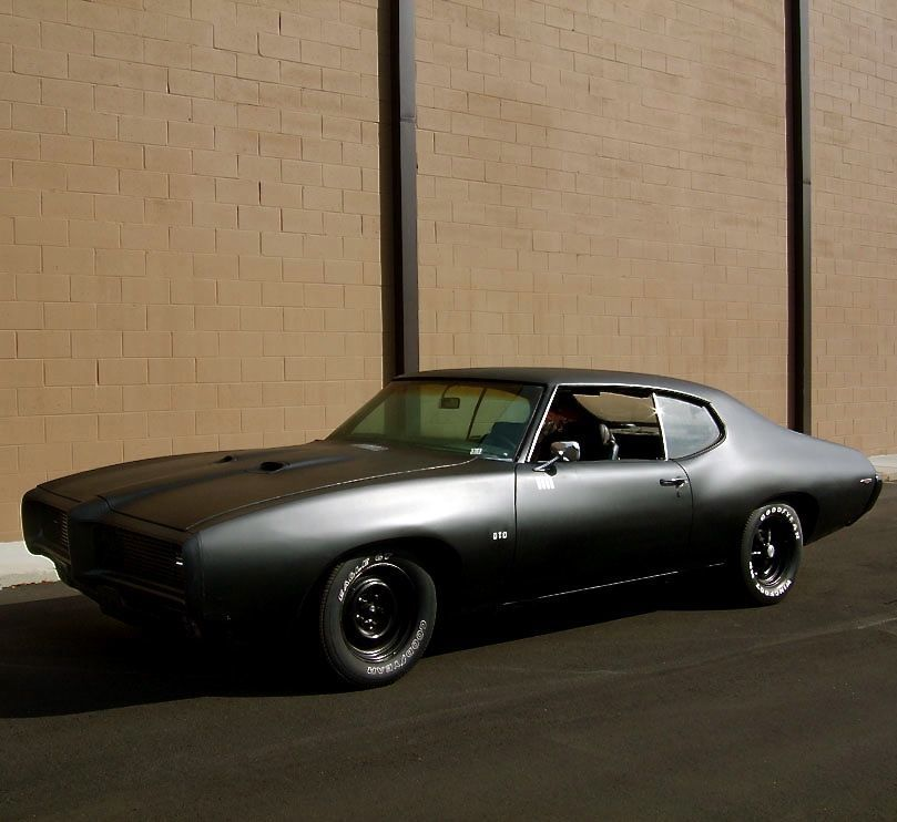 matte black \'69 GTO. Yes... Just yes. | Cars | Pinterest | Matte ...