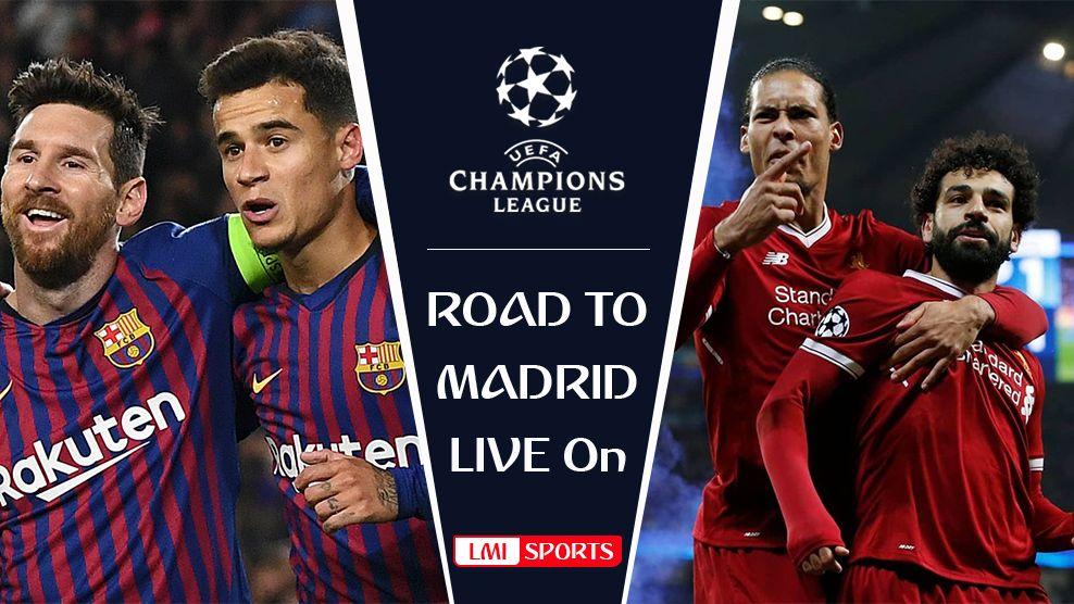 Barcelona vs Liverpool UEFA Champions League SemiFinal