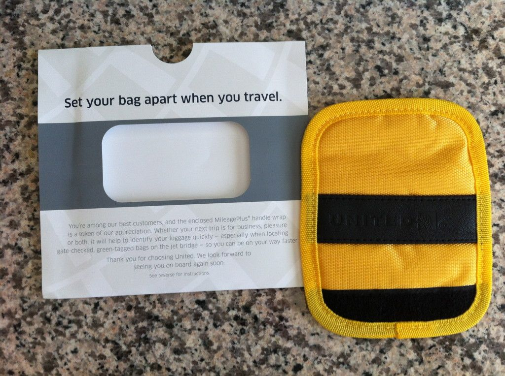 New United Airlines Baggage Handle Wraps for 1K and Global