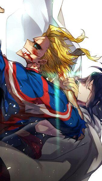 All Might Nana Shimura My Hero Academia 4K HD Mobile