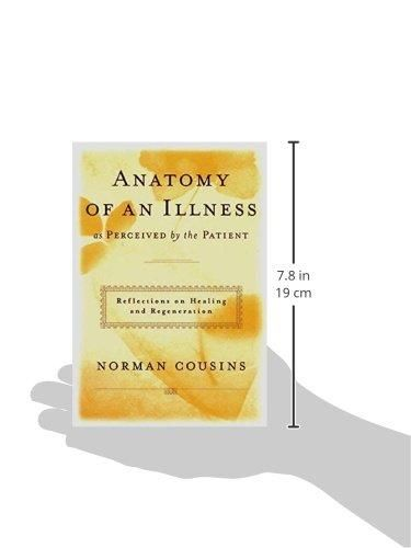 HARDCOVER - Anatomy of an Illness as Perceived by the Patient by ...