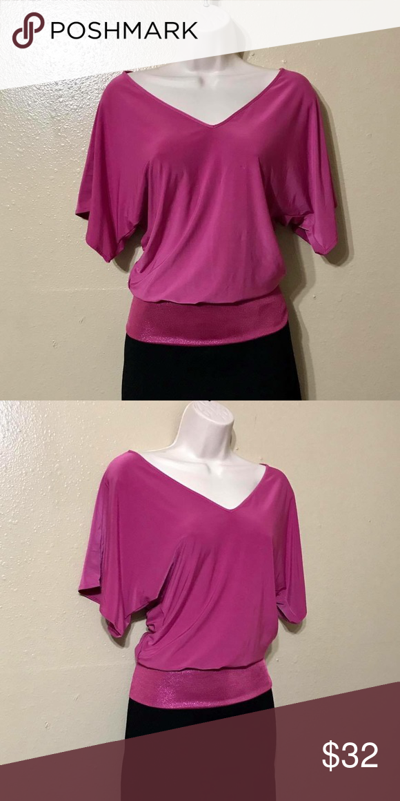 Express Pink Dressy Casual Blouse Express Pink Top Dressy Casual