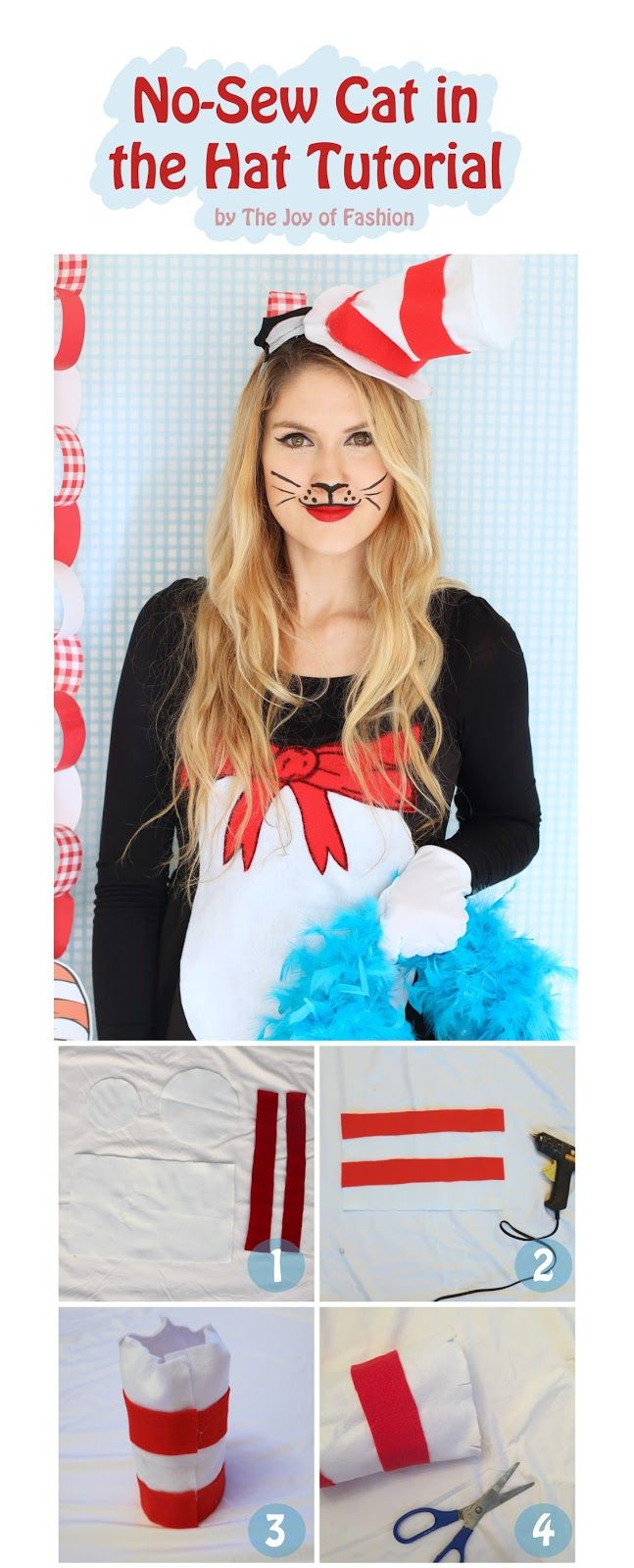 Cute Homemade Cat In The Hat Costume Click Through For Full