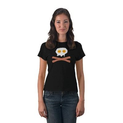 Eggs&Bacon Skull shirt...saw a similar version on The Chew this morning....love it!