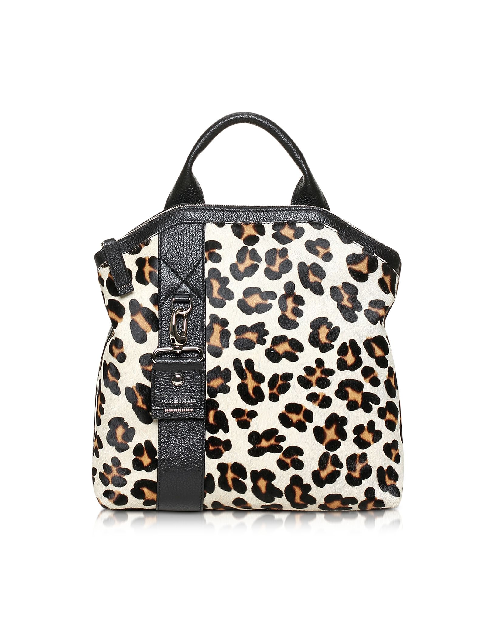 Francesco Biasia Leo Paradise Medium Haircalf and Leather Backpack at FORZIERI