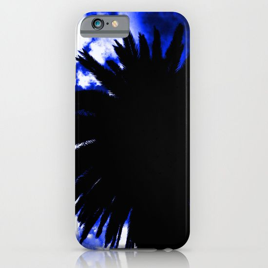 Palm Trees Silhouette - Groove Of Midnight iPhone & iPod Case