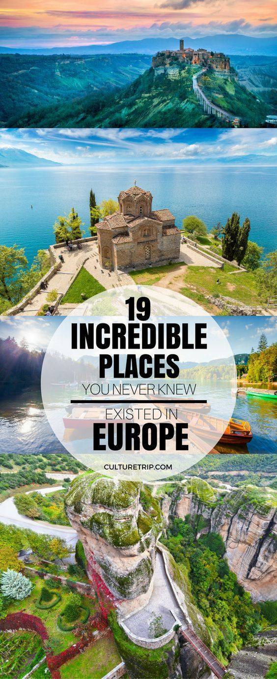 19 Incredible Places You Never Knew Existed in Europe #wanderlust