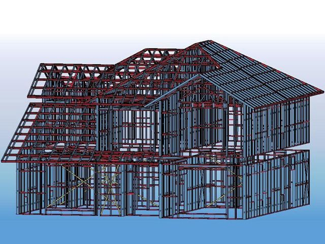 Steel Structure Design Software And Structural Steel Frame