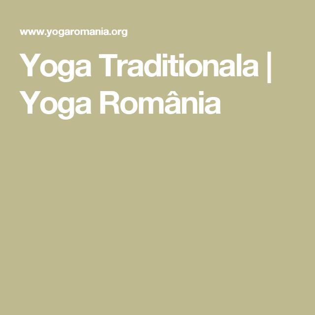 Yoga Traditionala | Yoga România
