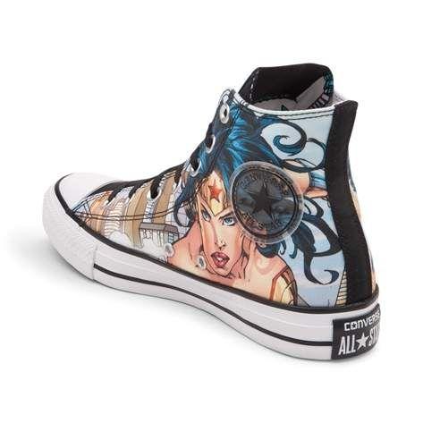 783851fdd6688c Converse Chuck Taylor All Star Hi DC Comics Justice League Sneaker ...