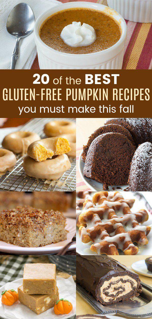 20 of the Best Gluten Free Pumpkin Recipes You Must Make