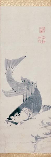 Ito Jakuchu (1716-1800), Japanese. Fish