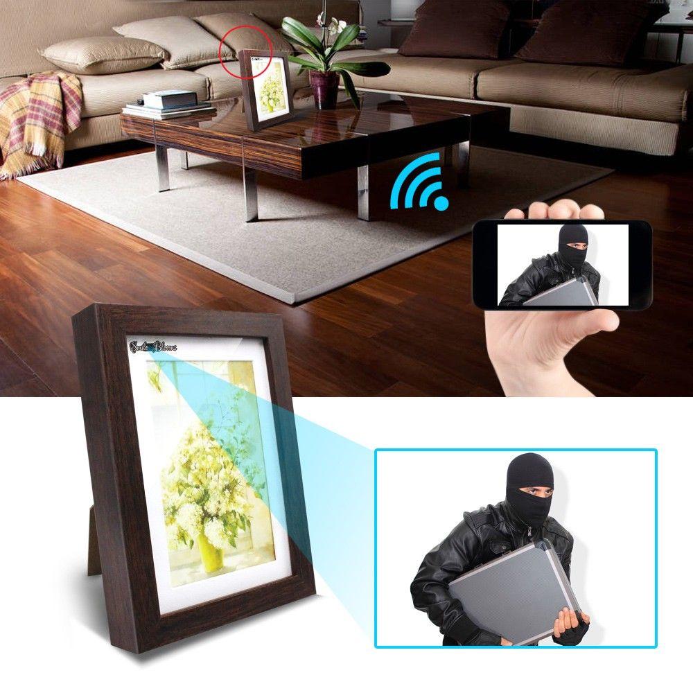 Get $6 Off for 720P Wifi Photo Frame Camera Spy Cam Hidden Cameras ...