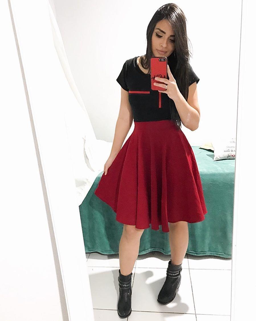 1f59a6474 Looks Tumblr Feminino · Combinação Perfeita 💜 Moda Evangelica Saias