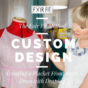 8 Lessons Learned From Building A Self Sewn Wardrobe Fair Fit Studio In 2020 Fitted Dress Pattern Beginner Sewing Projects Easy Sewing Projects For Beginners