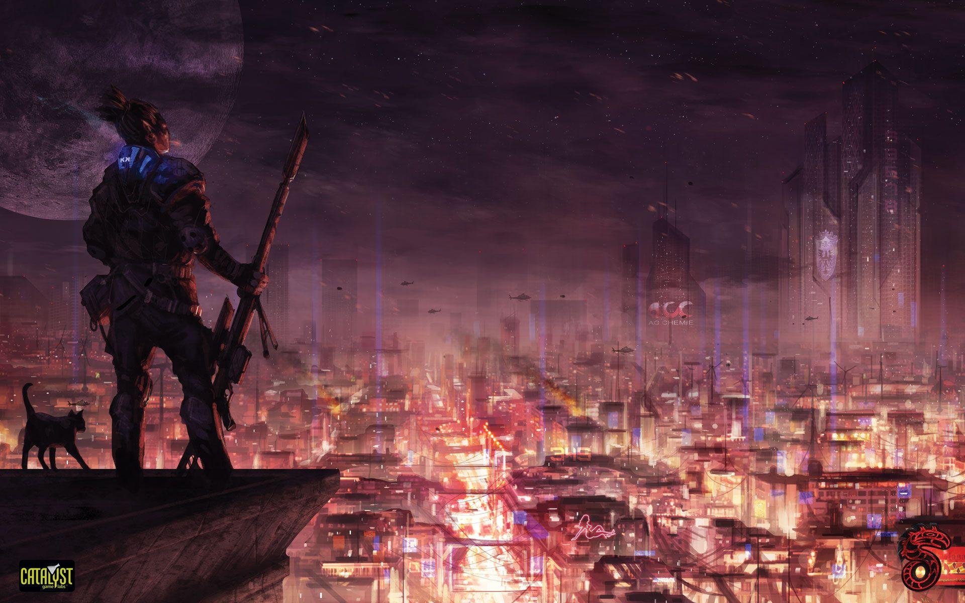 Wallpapers | Shadowrun 5 Overwatch | ART SCI-FI | Shadowrun