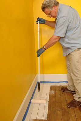 How To Paint Wood Floors For Dummies I Still Say This Is The Est Best Solution Your