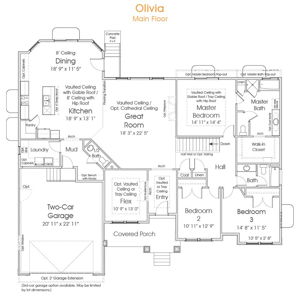 Olivia Floor Plans House Plans How To Plan