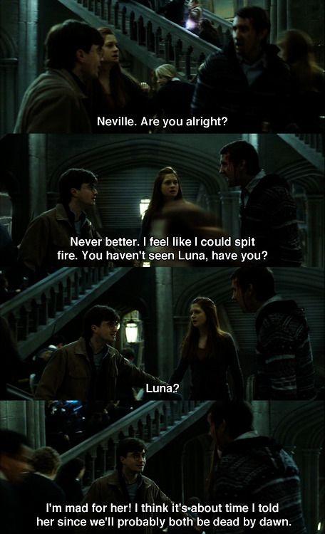 You Go Neville Harry Potter Universal Harry Potter Obsession Harry Potter Love