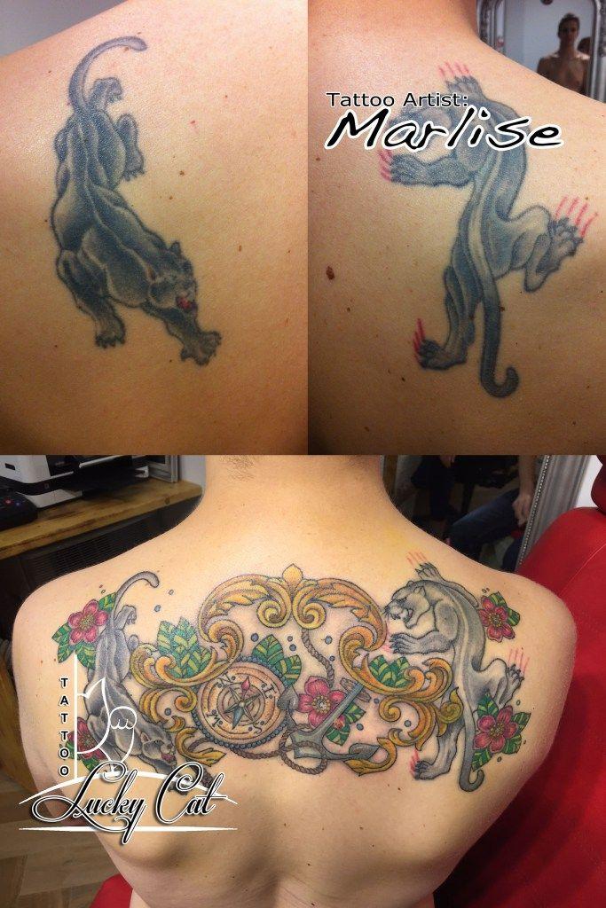upgrade van twee oude panters lucky cat tattoo s hertogenbosch